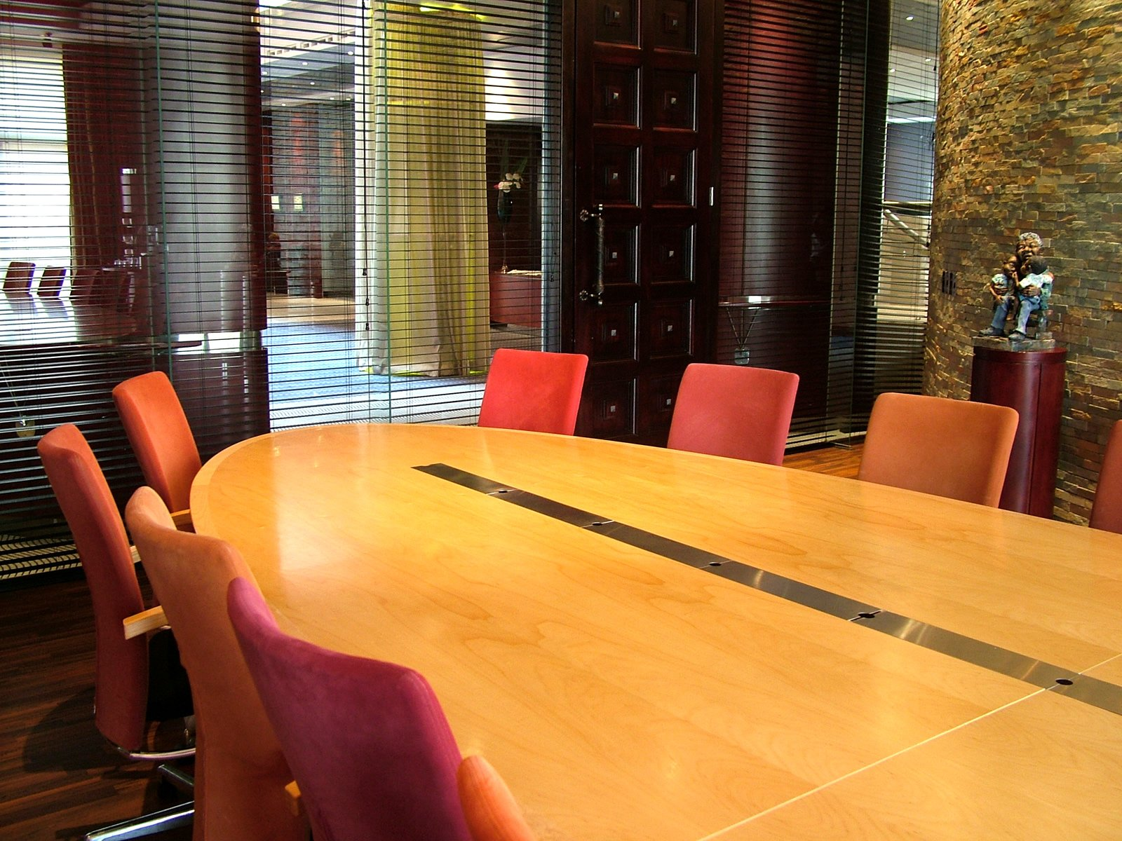 Business class boardroom