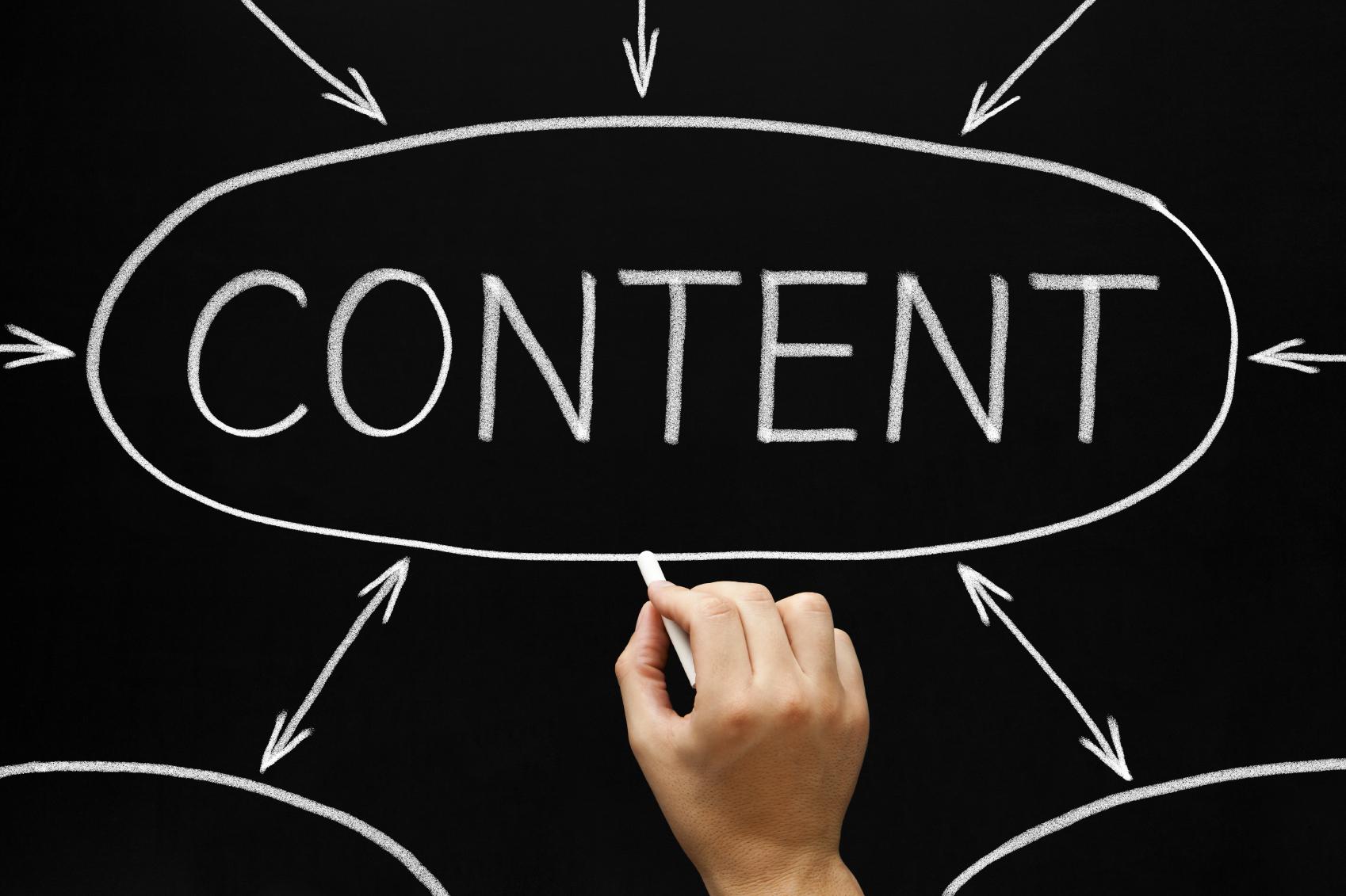 Content Flow Chart Blackboard